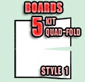 Game Board Blanks - STYLE 1