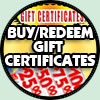 Gift Certificates - Buy or Redeem Here!