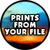 FULL COLOR PRINTING Services FROM YOUR FILE